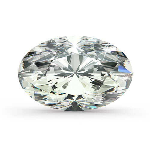 oval diamant