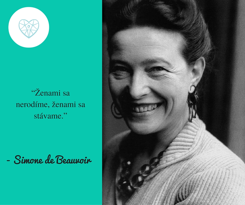 Citát Beauvoir