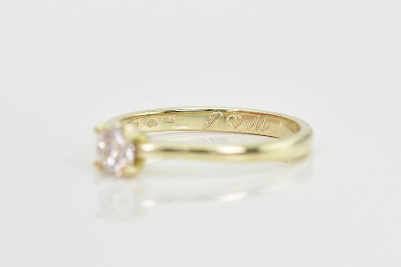 Gravírovanie snubných prsteňov a iných šperkov  laser alebo ručné ... 26aeda80cfe